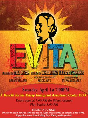 Come to Evita - Support KIAC